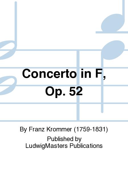Concerto in F, Op. 52