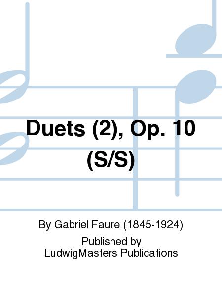 Duets (2), Op. 10 (S/S)