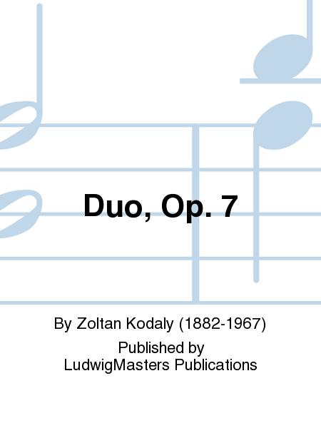 Duo, Op. 7