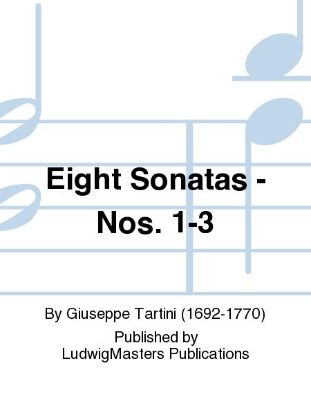 Eight Sonatas - Nos. 1-3