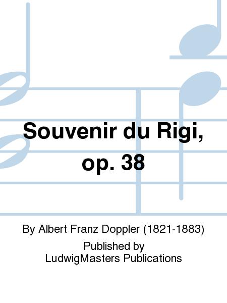 Souvenir du Rigi, op. 38