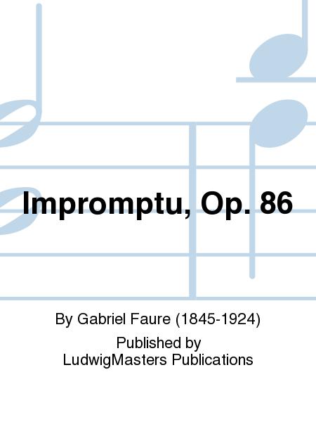 Impromptu, Op. 86