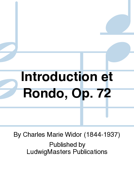 Introduction et Rondo, Op. 72