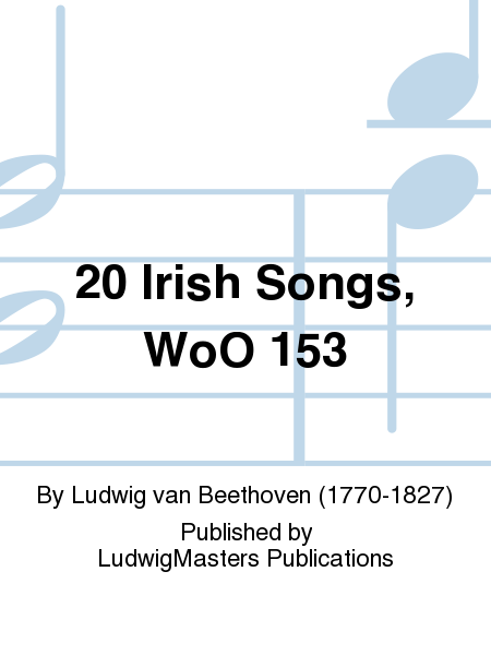 20 Irish Songs, WoO 153