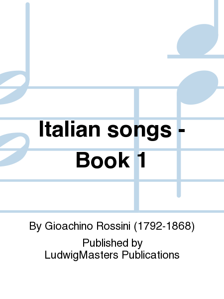 Italian songs - Book 1