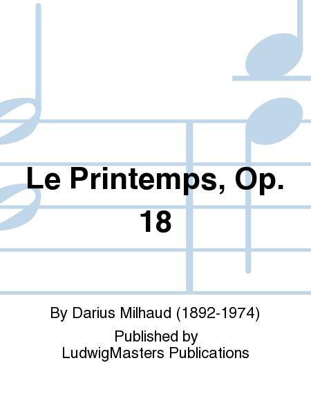 Le Printemps, Op. 18