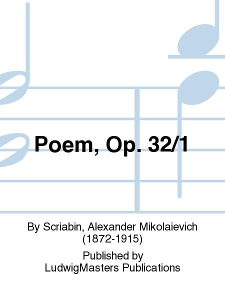 Poem, Op. 32/1