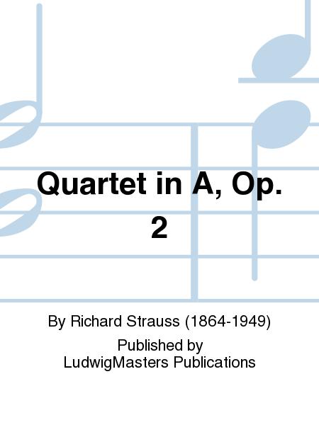 Quartet in A, Op. 2