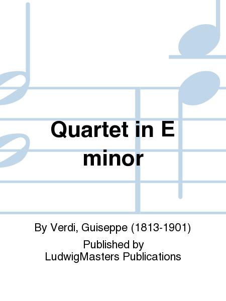 Quartet in E minor