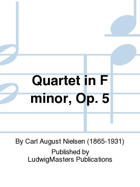 Quartet in F minor, Op. 5