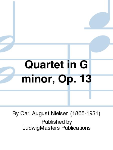 Quartet in G minor, Op. 13