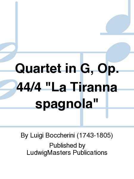 Quartet in G, Op. 44/4