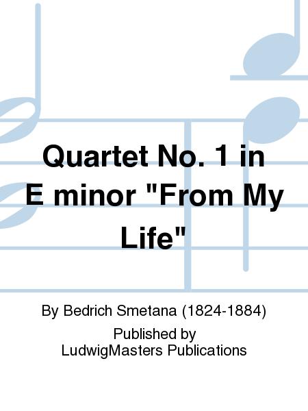 Quartet No. 1 in E minor
