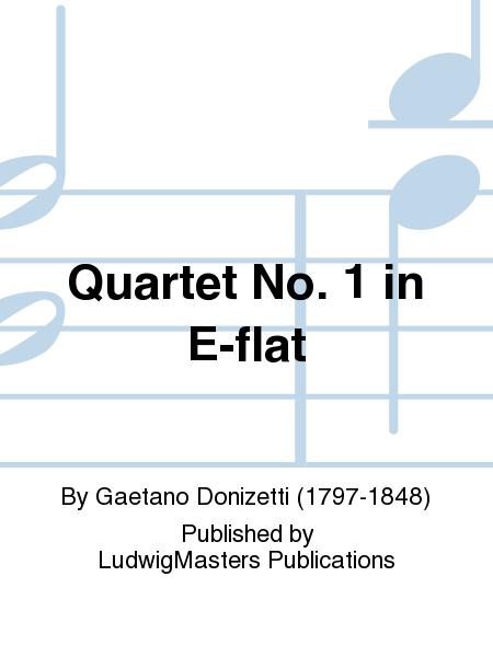 Quartet No. 1 in E-flat