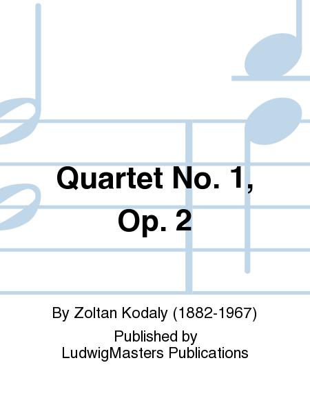 Quartet No. 1, Op. 2