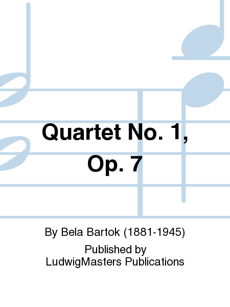 Quartet No. 1, Op. 7