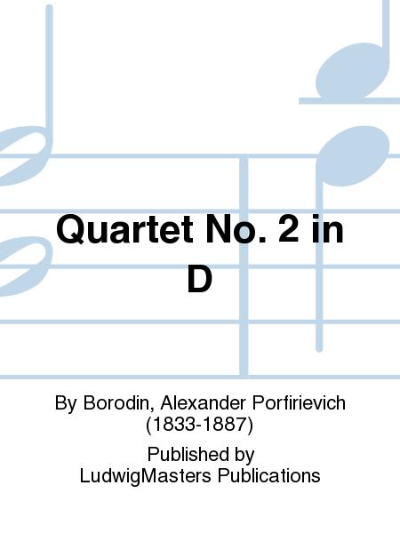 Quartet No. 2 in D