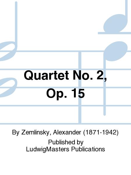 Quartet No. 2, Op. 15