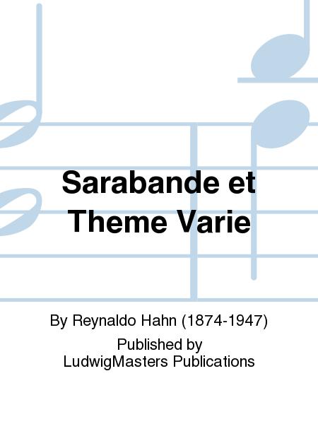 Sarabande et Theme Varie