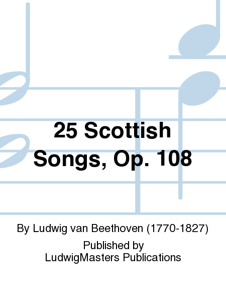 25 Scottish Songs, Op. 108