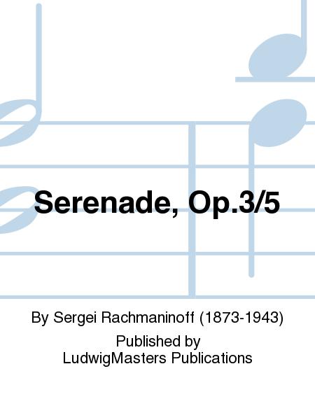 Serenade, Op.3/5