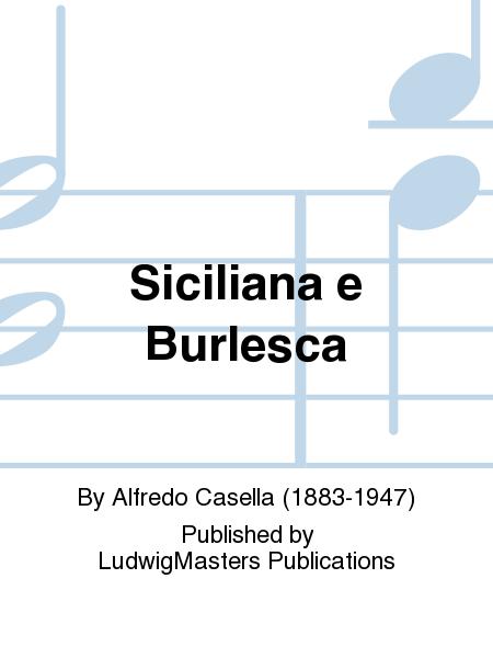 Siciliana e Burlesca