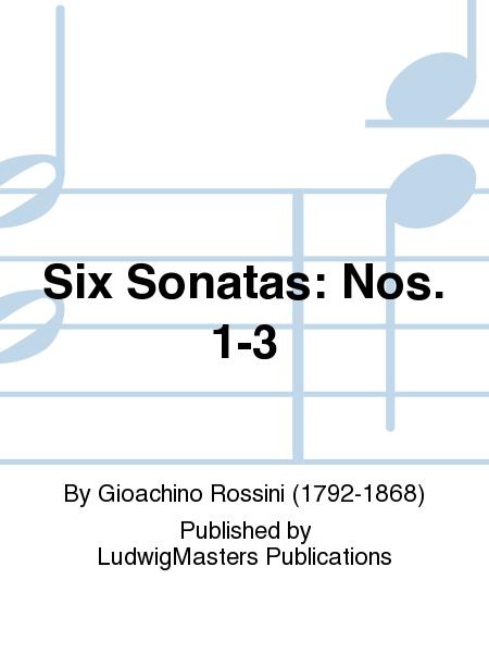 Six Sonatas: Nos. 1-3
