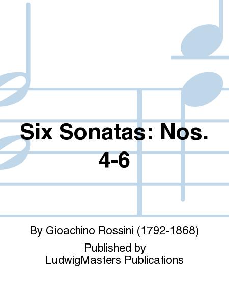 Six Sonatas: Nos. 4-6