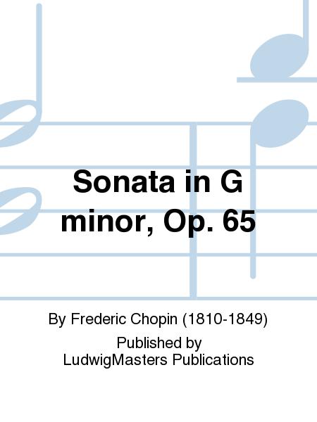 Sonata in G minor, Op. 65