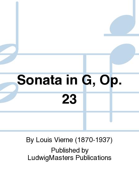 Sonata in G, Op. 23