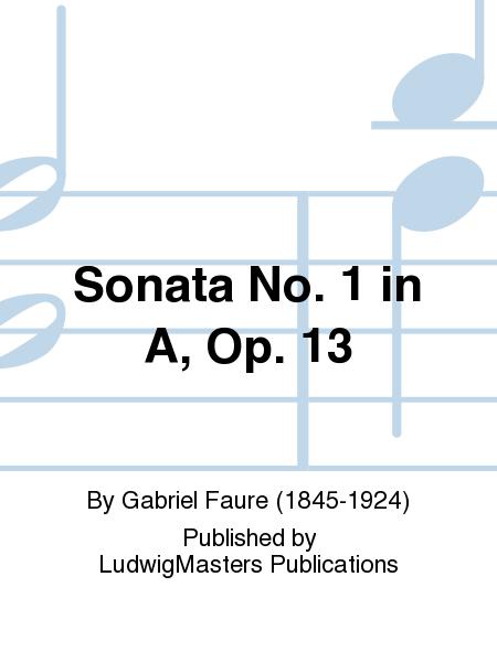 Sonata No. 1 in A, Op. 13