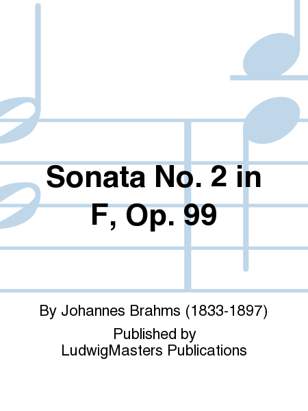 Sonata No. 2 in F, Op. 99
