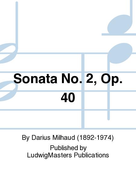 Sonata No. 2, Op. 40