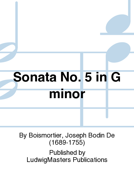 Sonata No. 5 in G minor