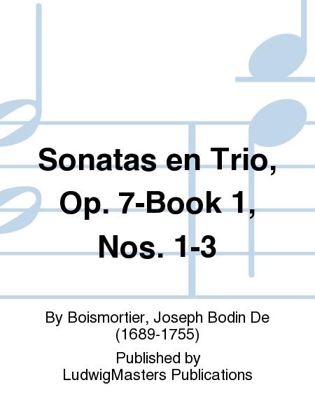 Sonatas en Trio, Op. 7-Book 1, Nos. 1-3