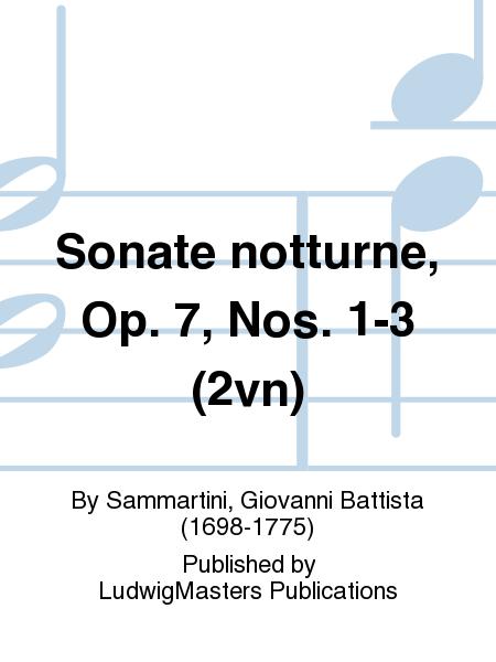 Sonate notturne, Op. 7, Nos. 1-3 (2vn)