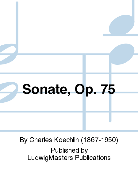 Sonate, Op. 75