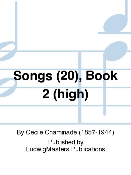 Songs (20), Book 2 (high)