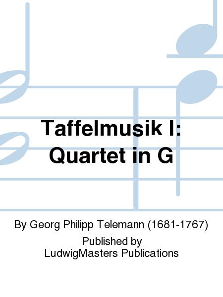 Taffelmusik I: Quartet in G