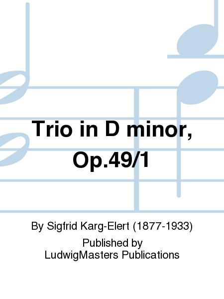 Trio in D minor, Op.49/1