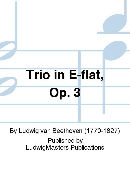 Trio in E-flat, Op. 3