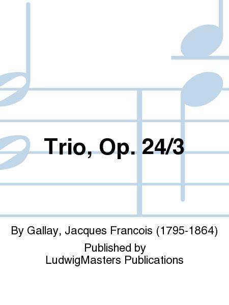 Trio, Op. 24/3
