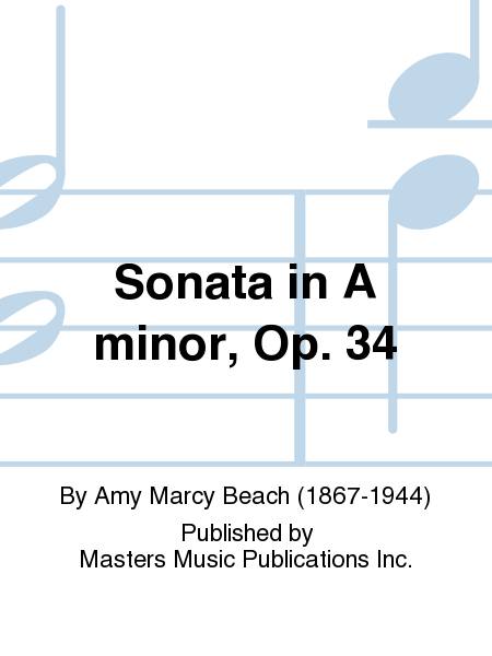Sonata in A minor, Op. 34