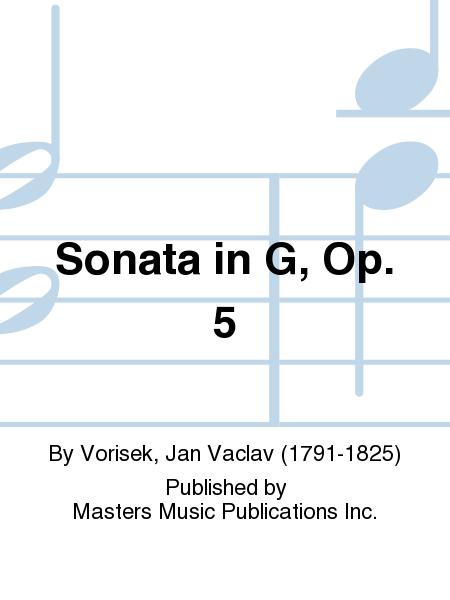 Sonata in G, Op. 5