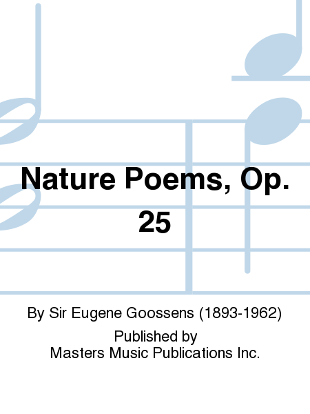 Nature Poems, Op. 25