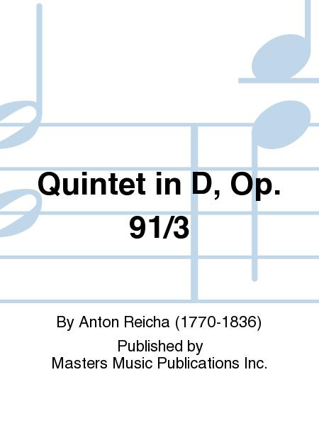 Quintet in D, Op. 91/3