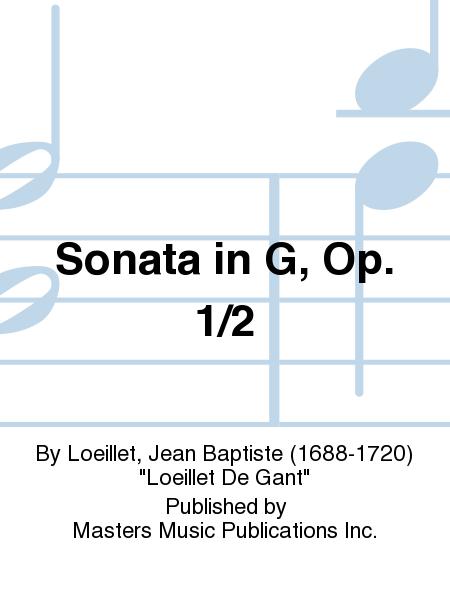 Sonata in G, Op. 1/2