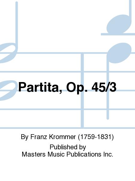 Partita, Op. 45/3