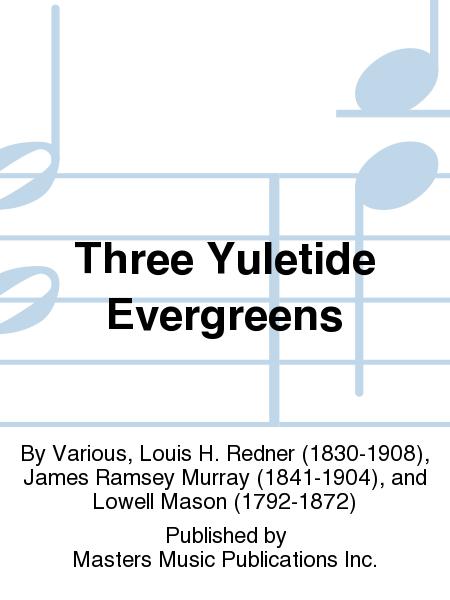 Three Yuletide Evergreens