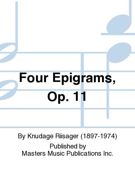 Four Epigrams, Op. 11